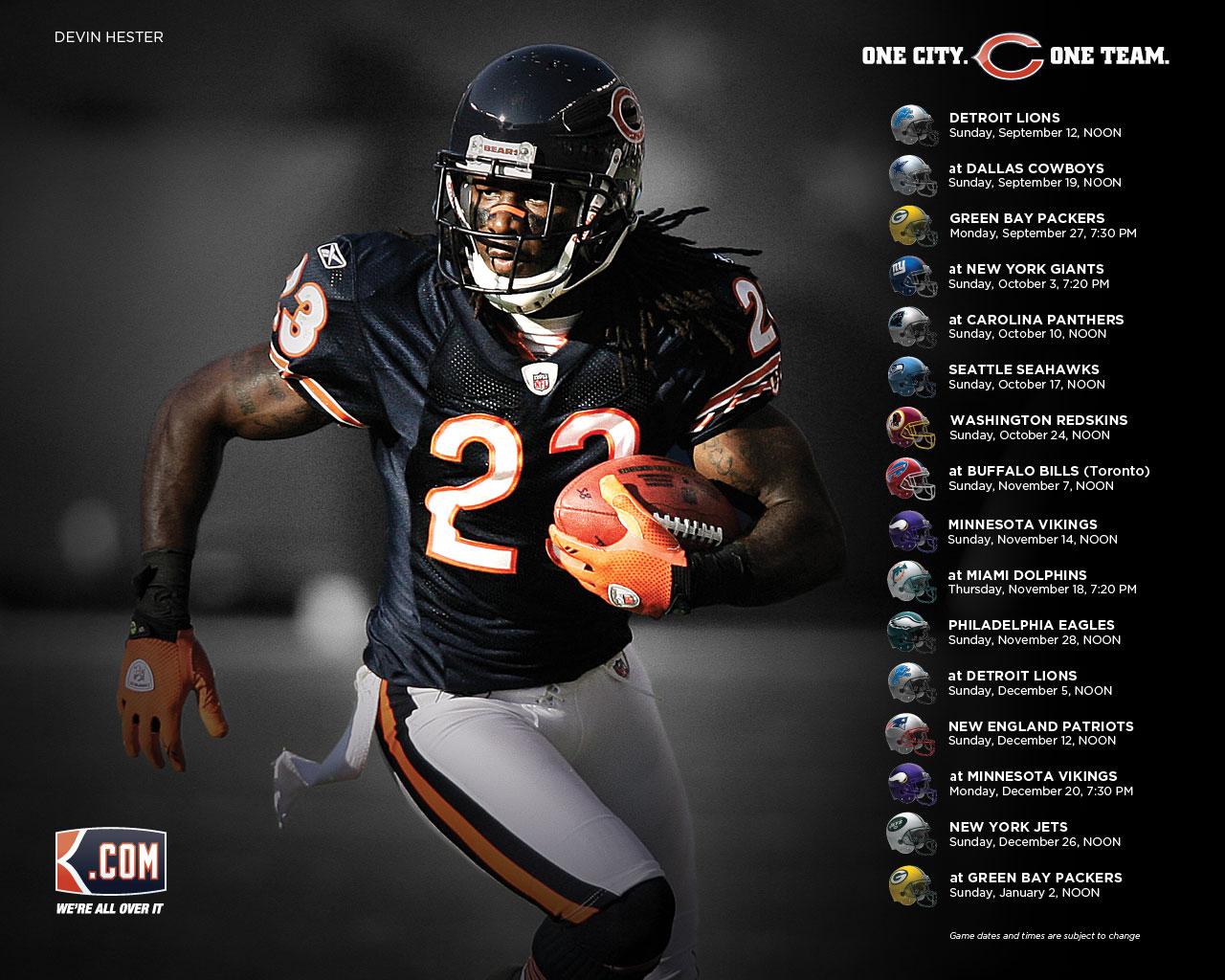 Chicago Bears wallpaper desktop wallpapers Chicago Bears wallpapers 1280x1024