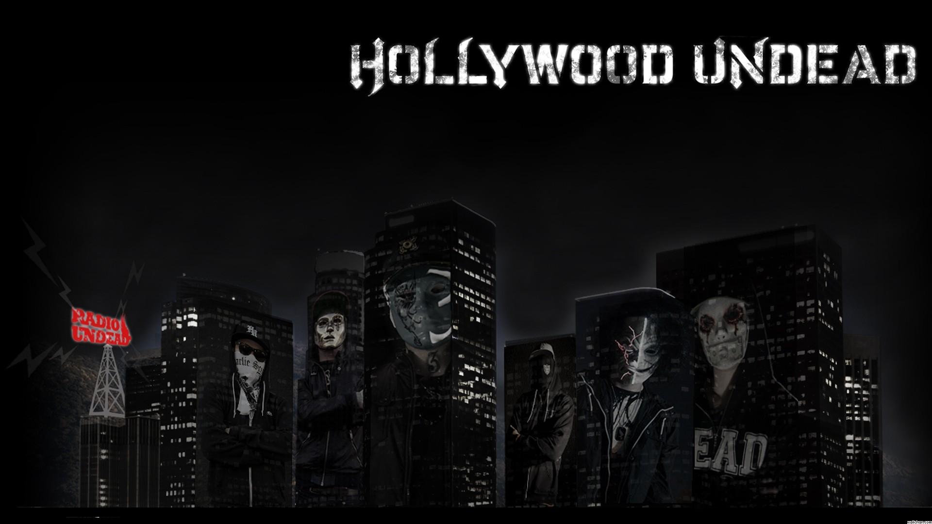 Hollywood Undead Logo Mask Rock masks wallpaper 1920x1080
