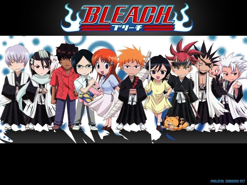 Bleach Anime images Bleach Chibi HD wallpaper and background photos 1024x768