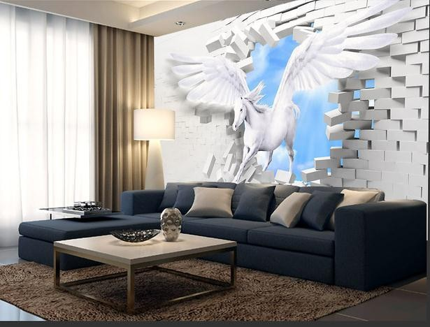Awesome Horse Wall Murals Customize Large Wall Paper Mural Modern Wallpaper In . Part 17
