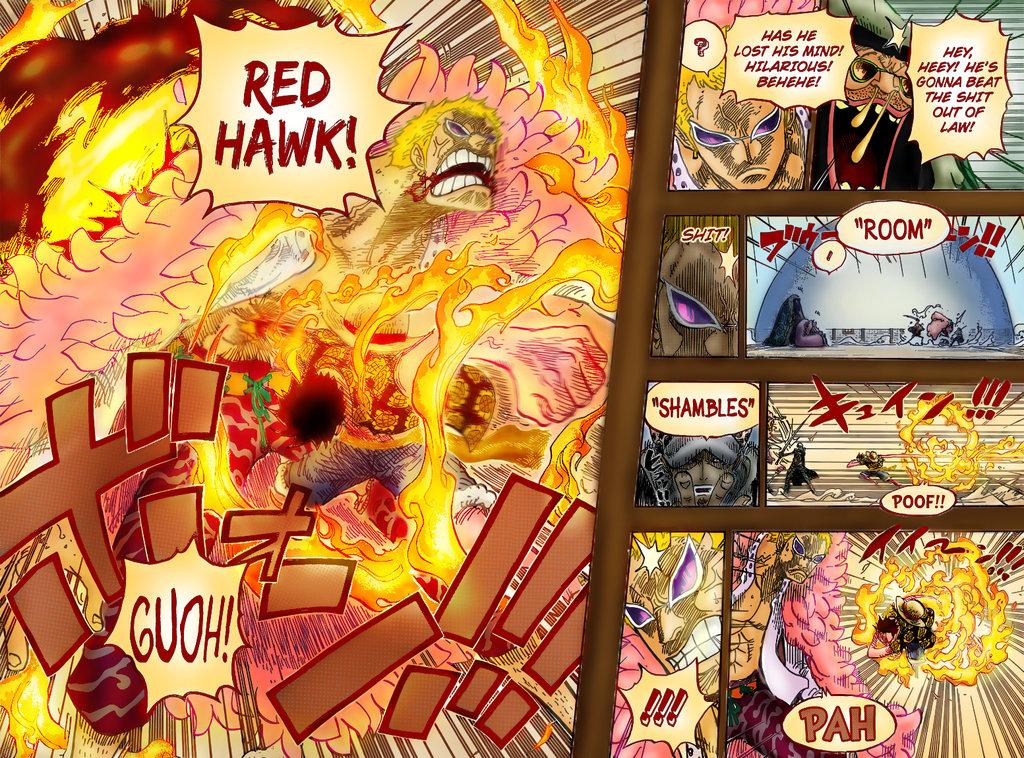 Luffy vs Doflamingo Wallpaper - WallpaperSafari