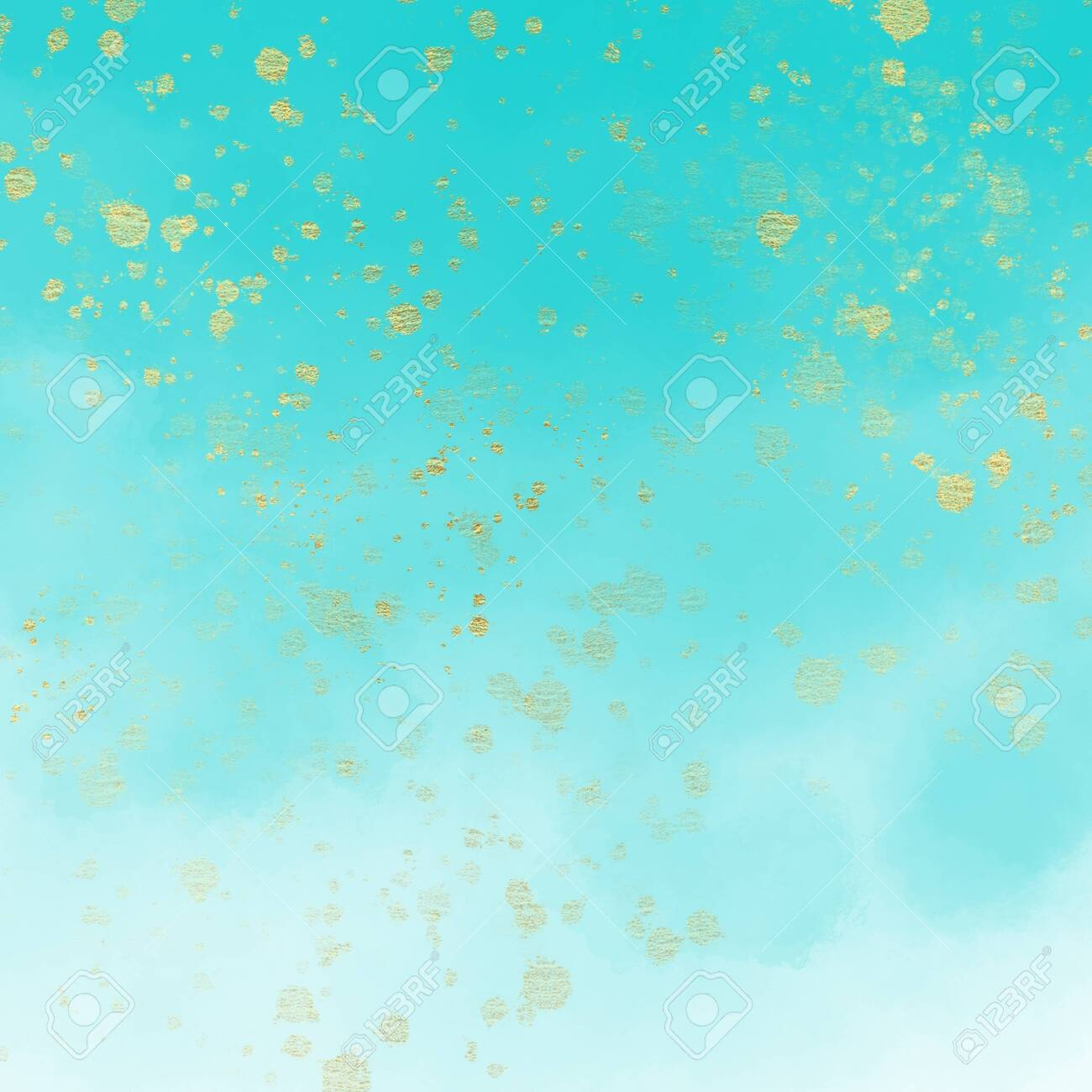 Watercolour Ombre Paper Background With Specs Of Gold 1300x1300