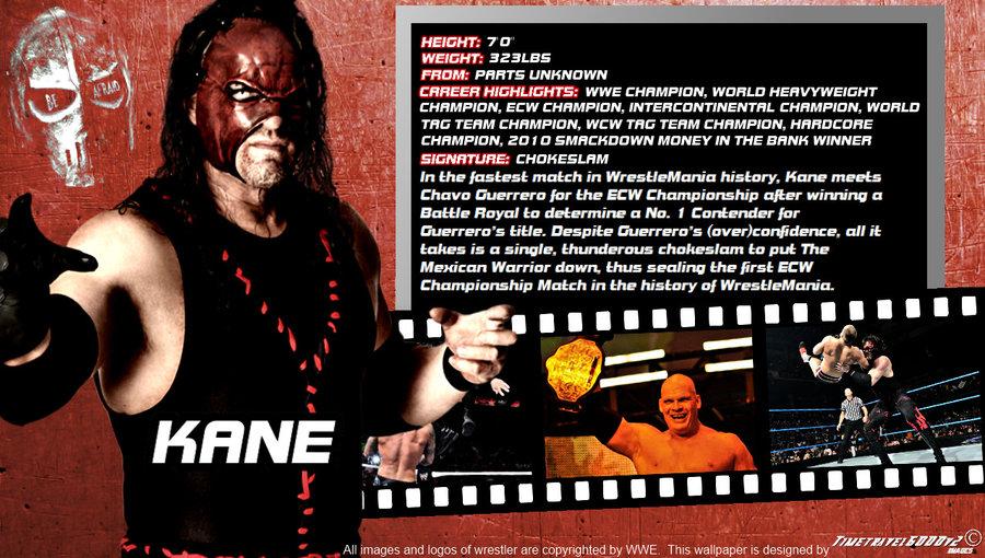 WWE Kane ID Wallpaper Widescreen by Timetravel6000v2 on DeviantArt