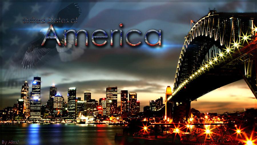 United States of America Wallpaper by MrAlexxS 900x506