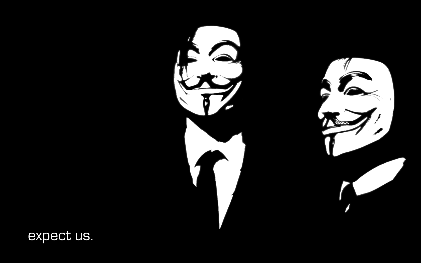 ANONYMOUS WALLPAPERS Hack The Hacker 1440x900