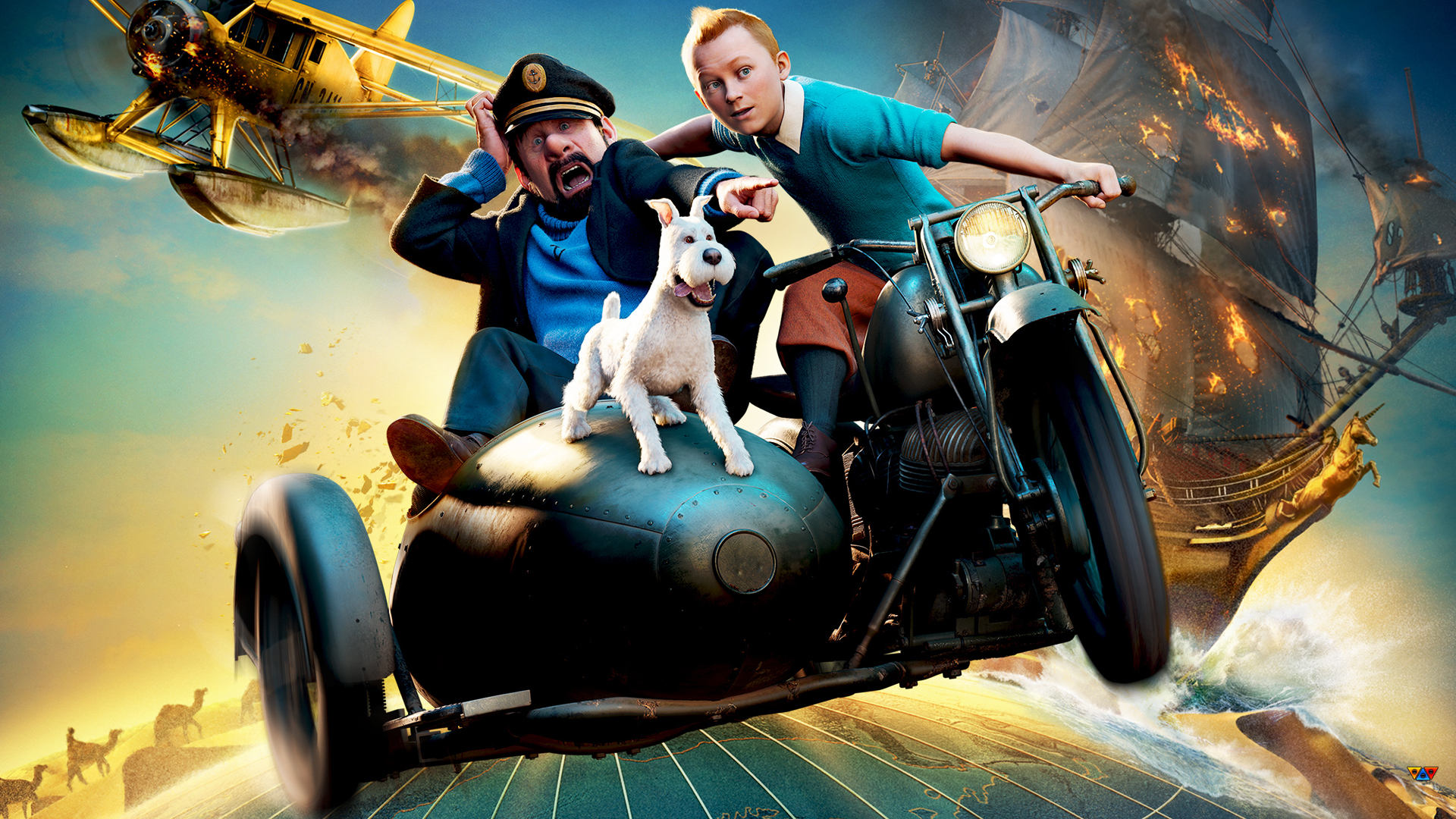tintin and snowy wallpaper - photo #34