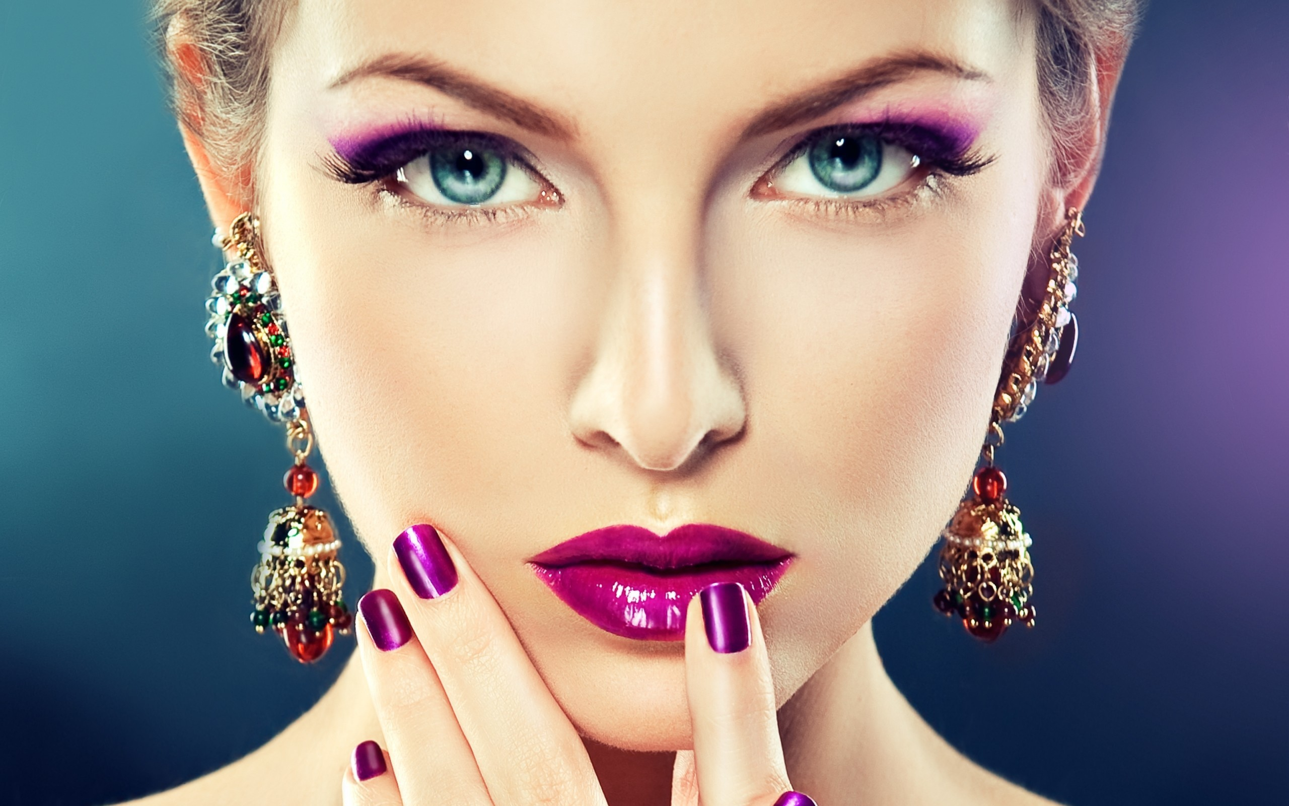 45 Makeup Wallpapers On Wallpapersafari