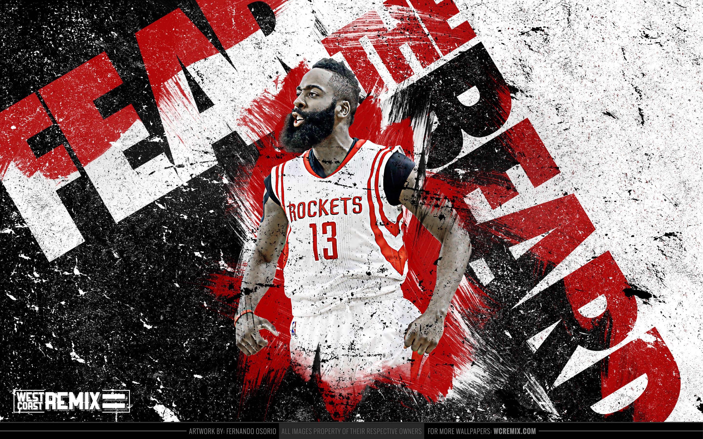 Fear The Beard Wallpaper WallpaperSafari