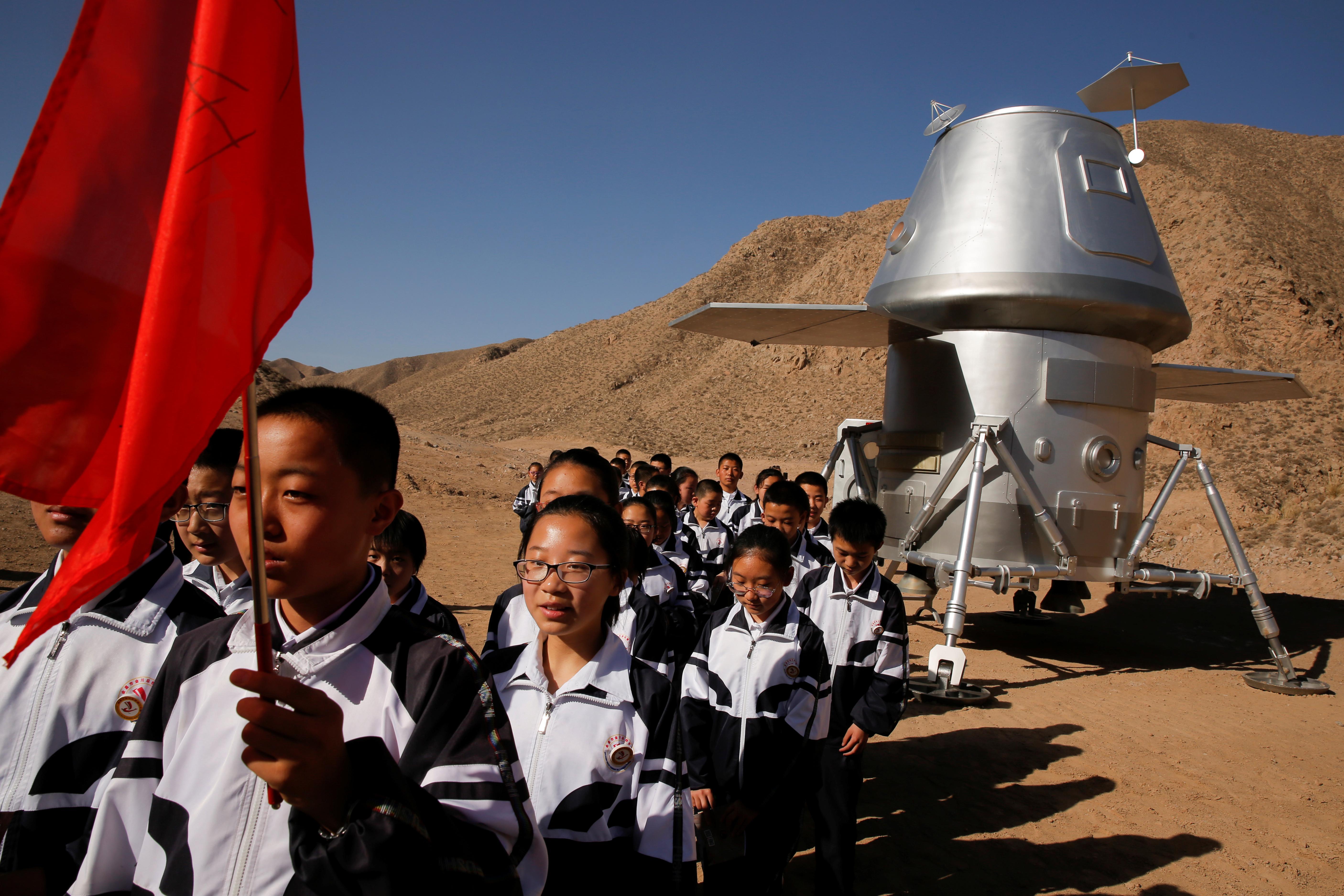 Chinas fake Mars base camp lets visitors explore Star Wars style 5623x3749