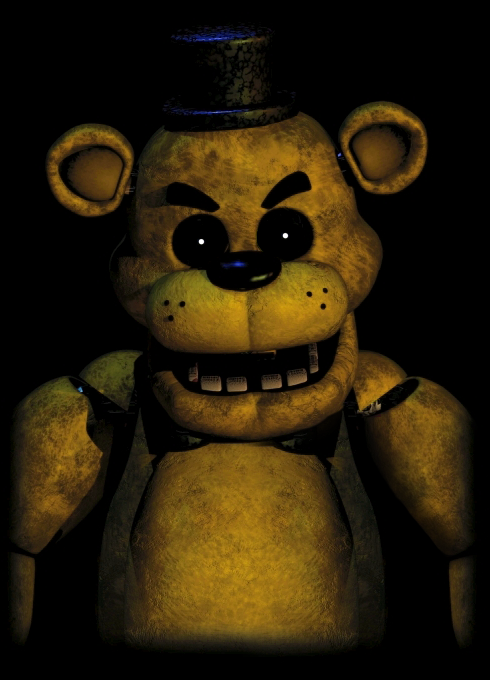 Mad Golden Freddy by kkguy570 490x680