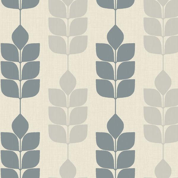 Candice Olson Light Blue Modern Petals Wallpaper   Wall Sticker Outlet 600x600