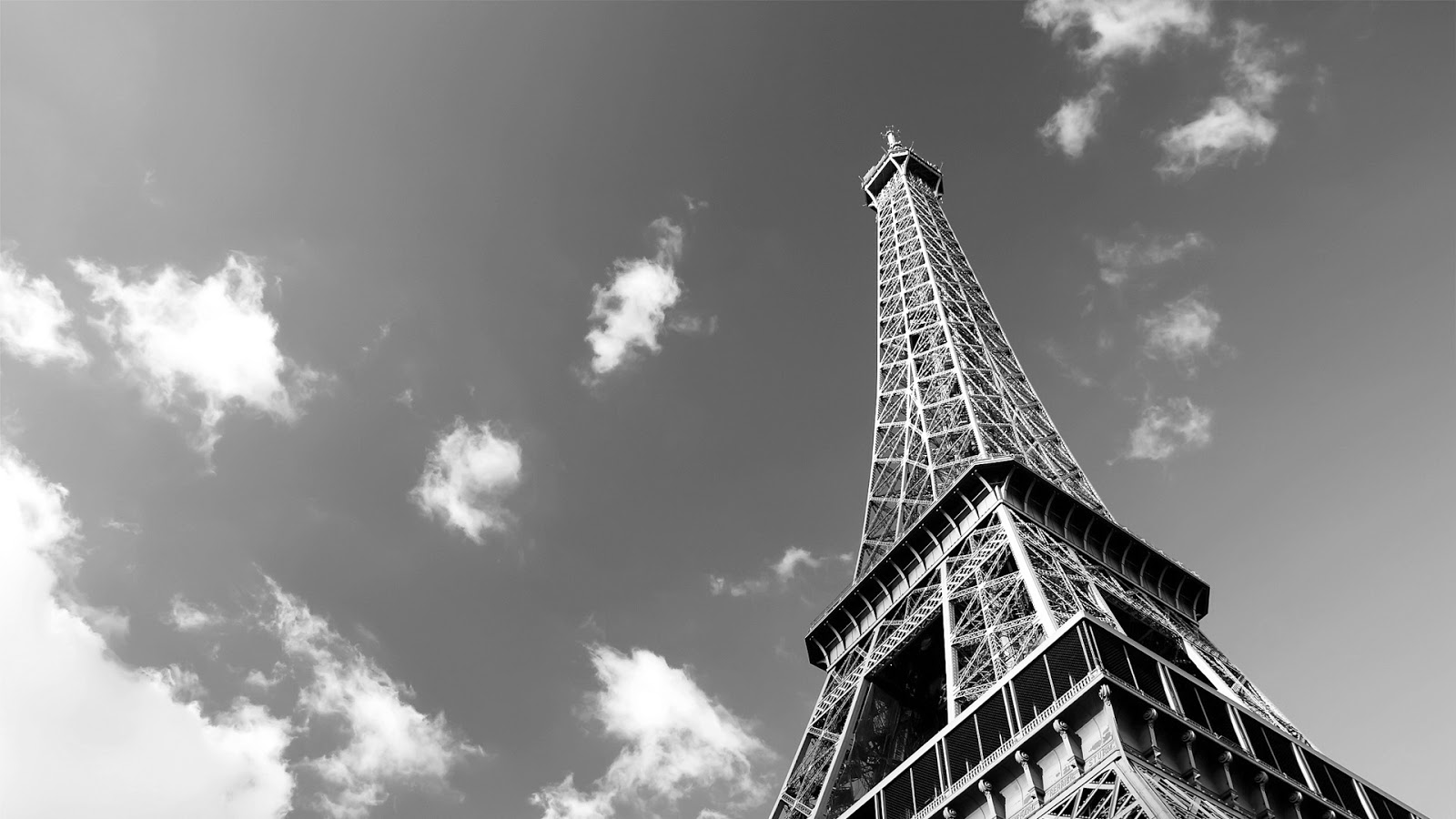 Paris Wallpaper Black And White Wallpapersafari
