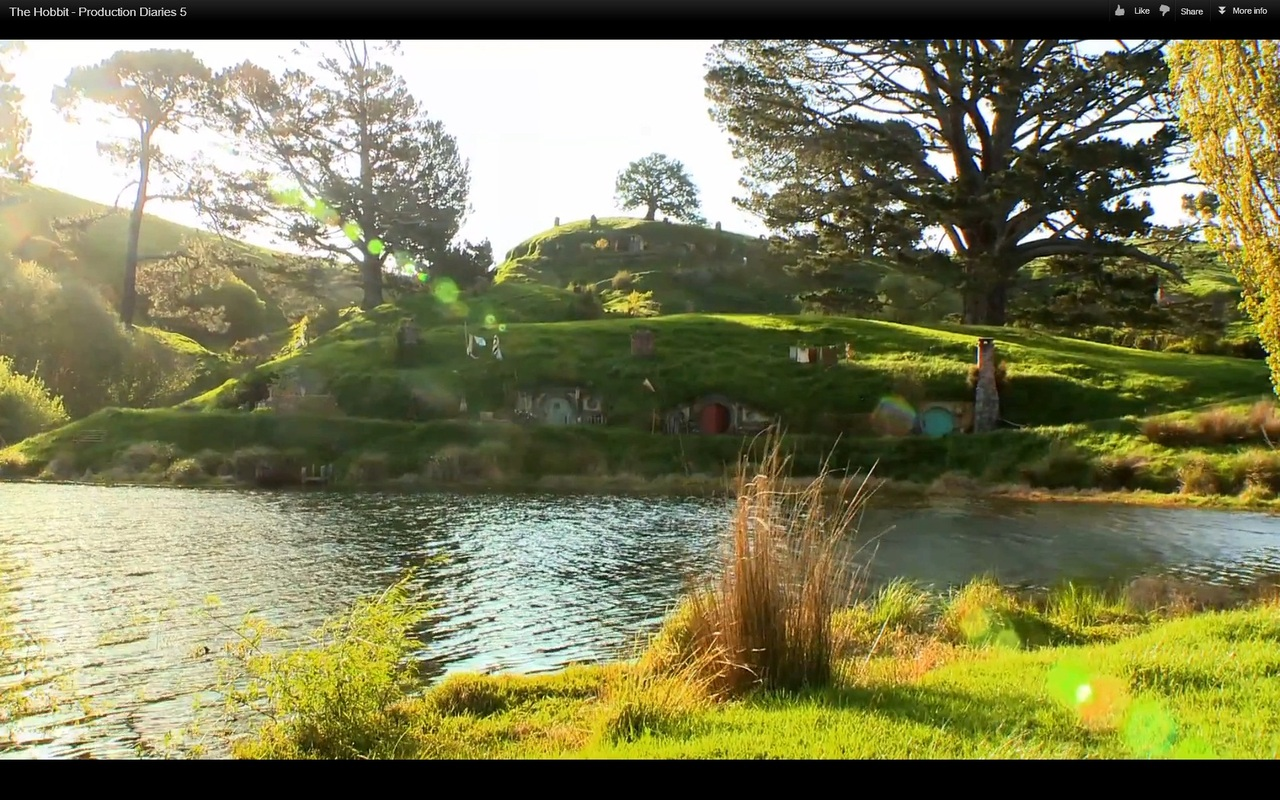 The Shire The Hobbit Wallpaper Nella contea degli hobbit 1280x800
