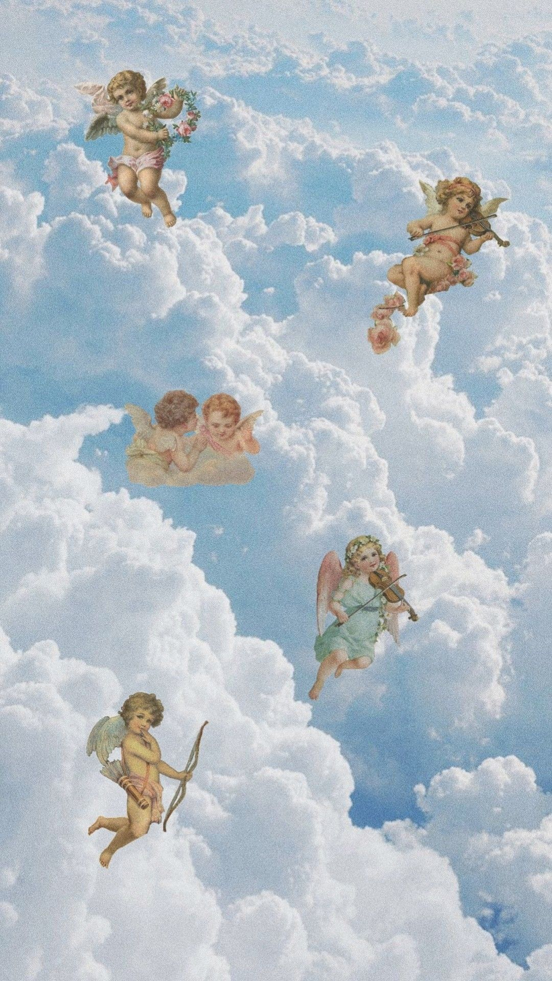 April on Twitter Angel wallpaper Aesthetic iphone wallpaper 1080x1920
