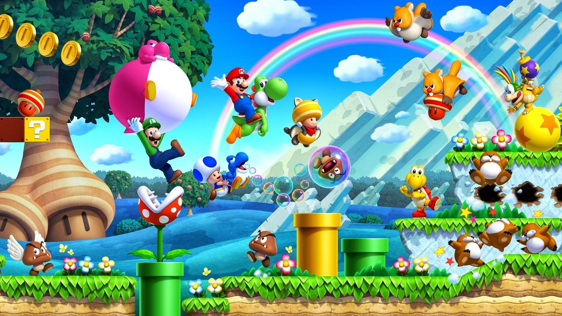 New Super Mario Bros Wallpaper 63 images 1920x1080