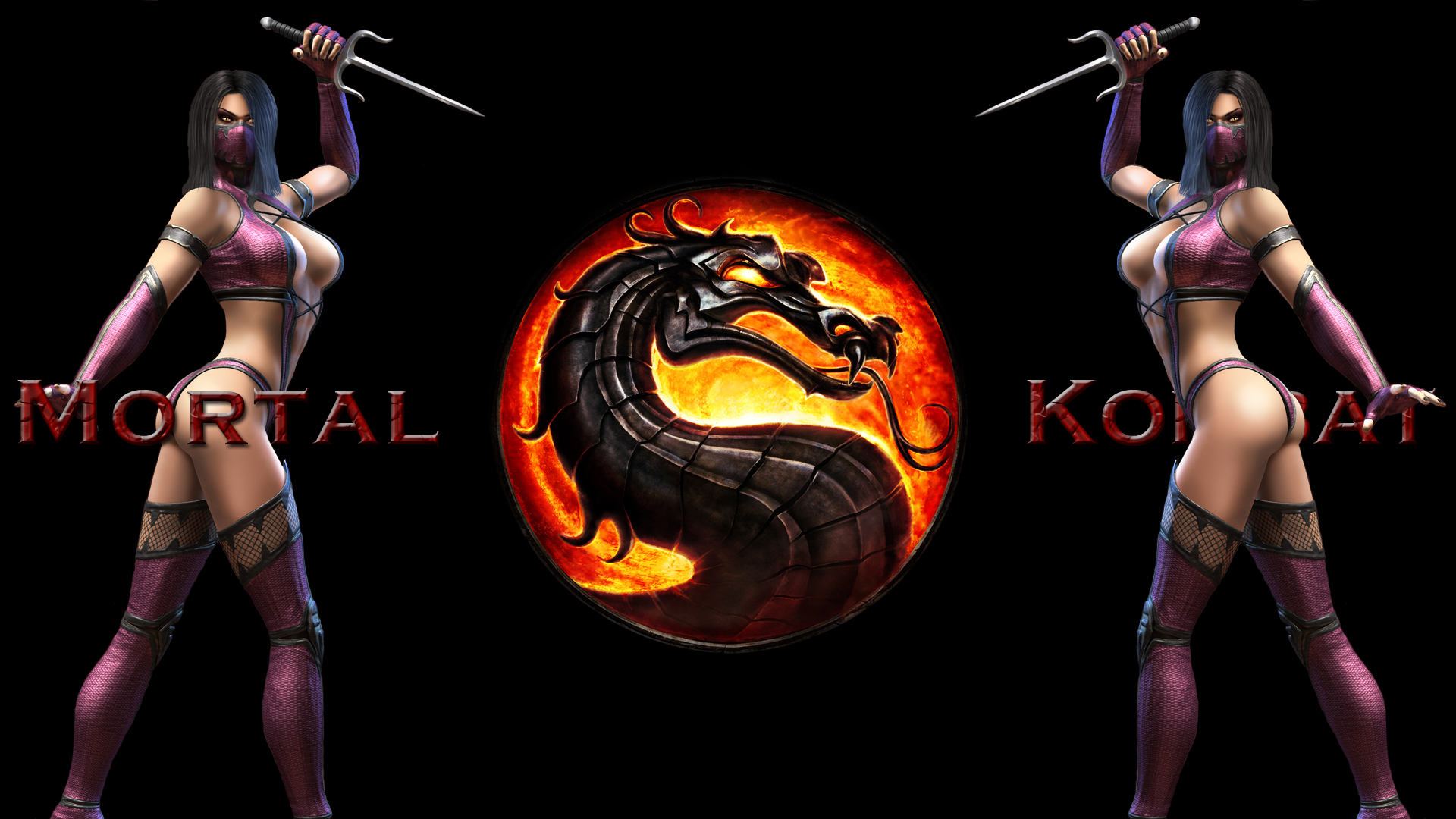 mortal kombat logo HD Wallpaper   Companies Brands 1000679 1920x1080