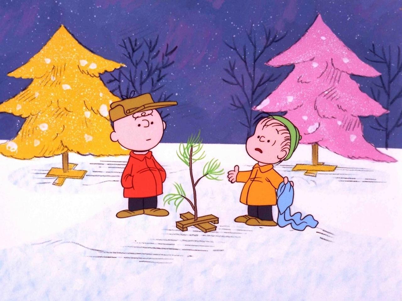 Pics Photos   Peanuts Charlie Brown Christmas Wallpaper 1280x960
