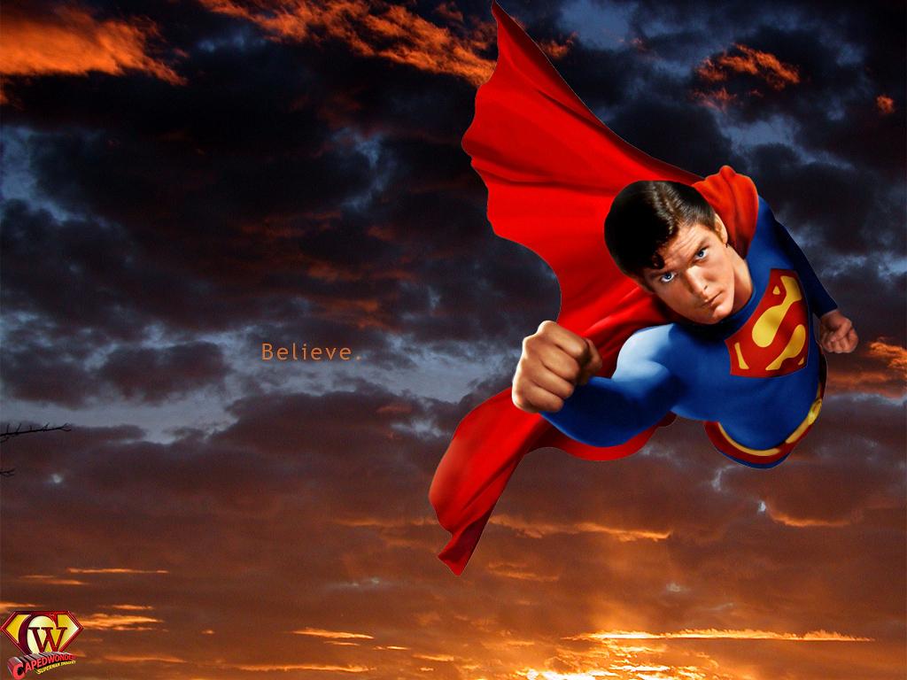 Superman   Superman The Movie Wallpaper 20439151 1024x768