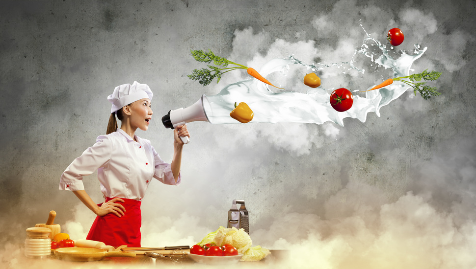 asian girl cooking creative cook mouthpiece wallpaper and 970x550