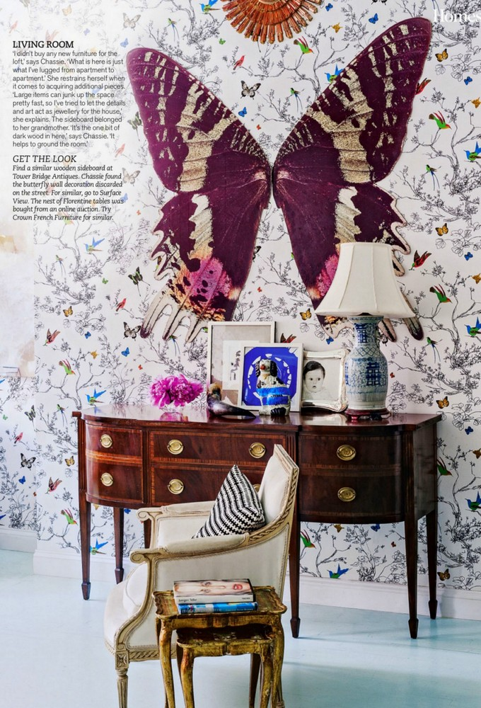 Image: As above. Fearless use of wallpaper! Image credit: Matthew ...