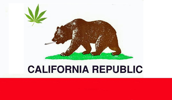 California Republic Logo Weed California republic flag 600x350