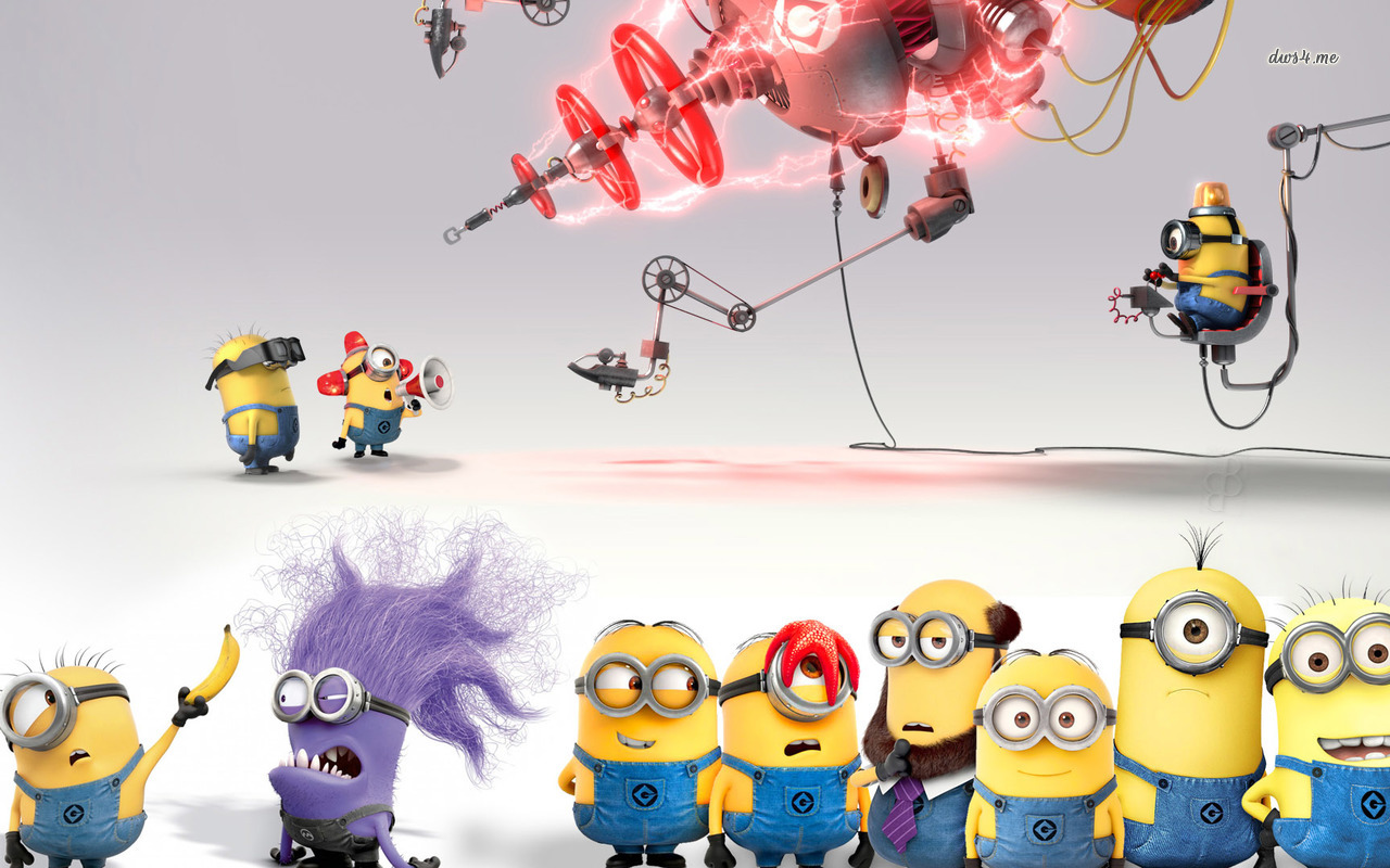 Cute Minions In Despicable Me 2 Wallpaper   Cartoon Wallpapers .