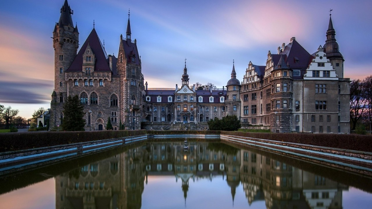 Moszna Castle   Poland Wallpaper Wallpaper Studio 10 1280x720