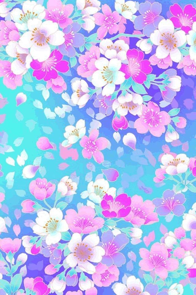 Free Colorful Flower Wallpaper Downloads: [49+] Flower IPod Wallpapers On WallpaperSafari