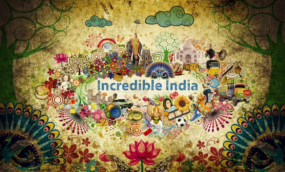 Incredible india Identity by prasadesign 1000x605
