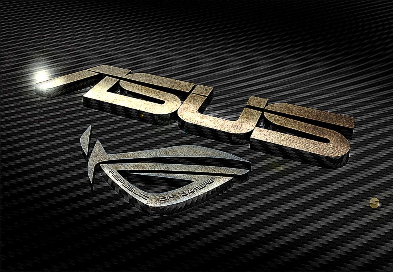 Asus 3D Logo Wallpaper Images 1199 HD Wallpaper Feewall 1377x955