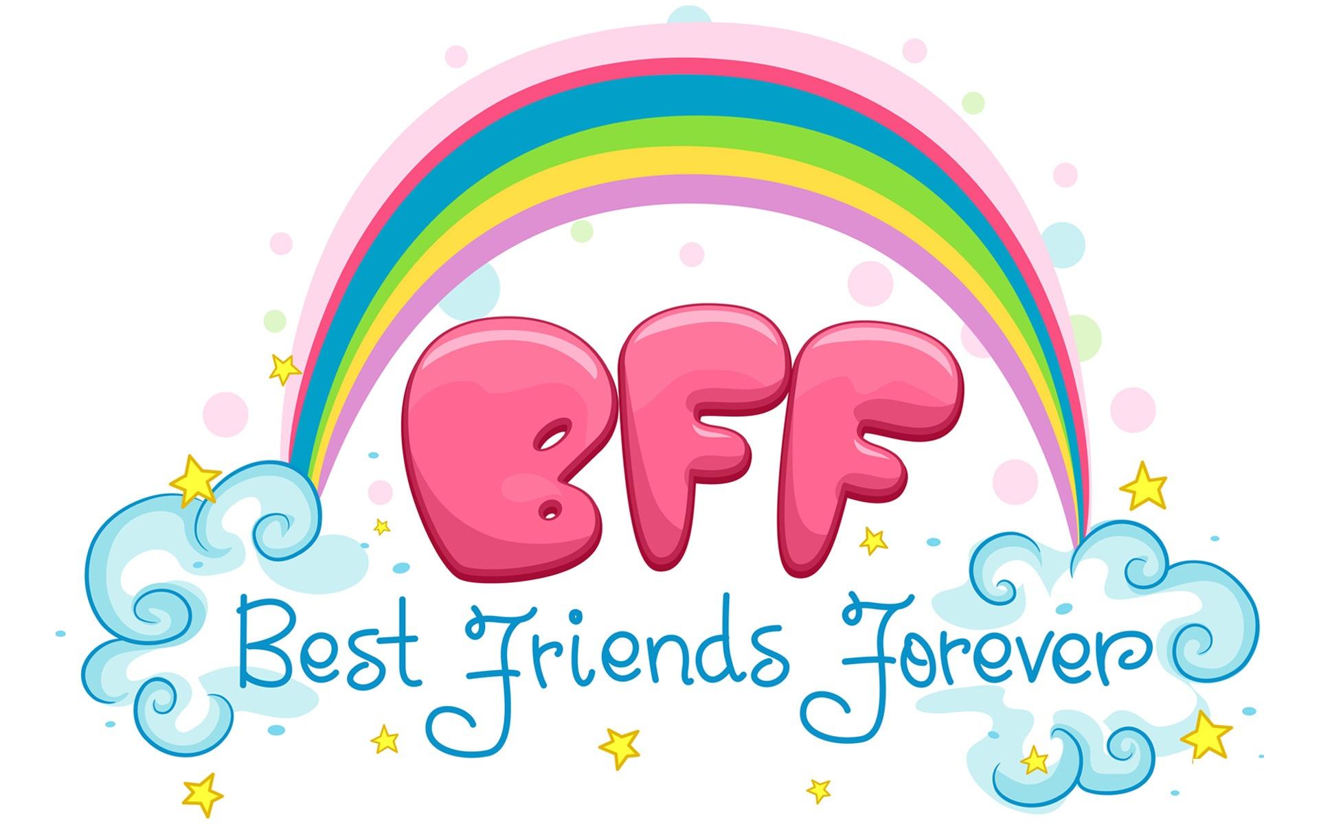 best friends forever friendship day desktop 1920x1200