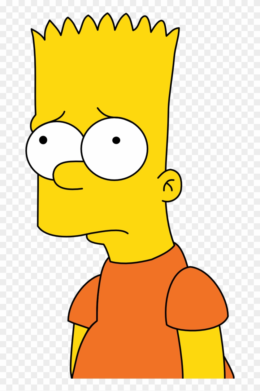 Bart Simpson Images Bart Simpson Hd Wallpaper And Background   Sad 840x1261