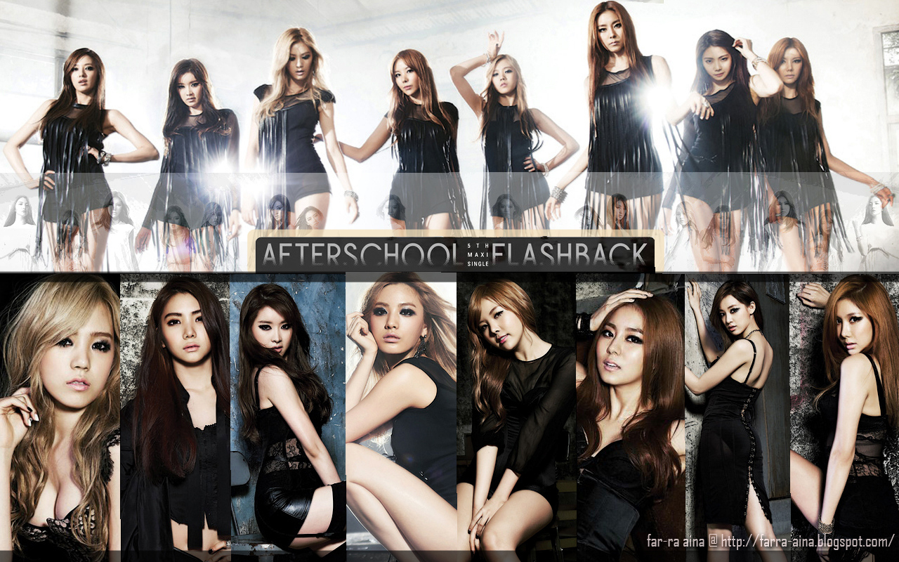 HAPPY BLOGGER Lirik Lagu Flashback After School 1280x800