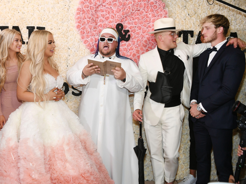 Jake Paul and Tana Mongeau Wedding Details They Marry in Vegas 1024x768