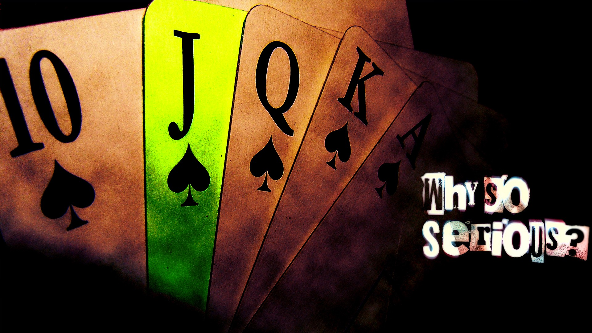 cards poker digital art luck playing cards joker playing card 1920x1080