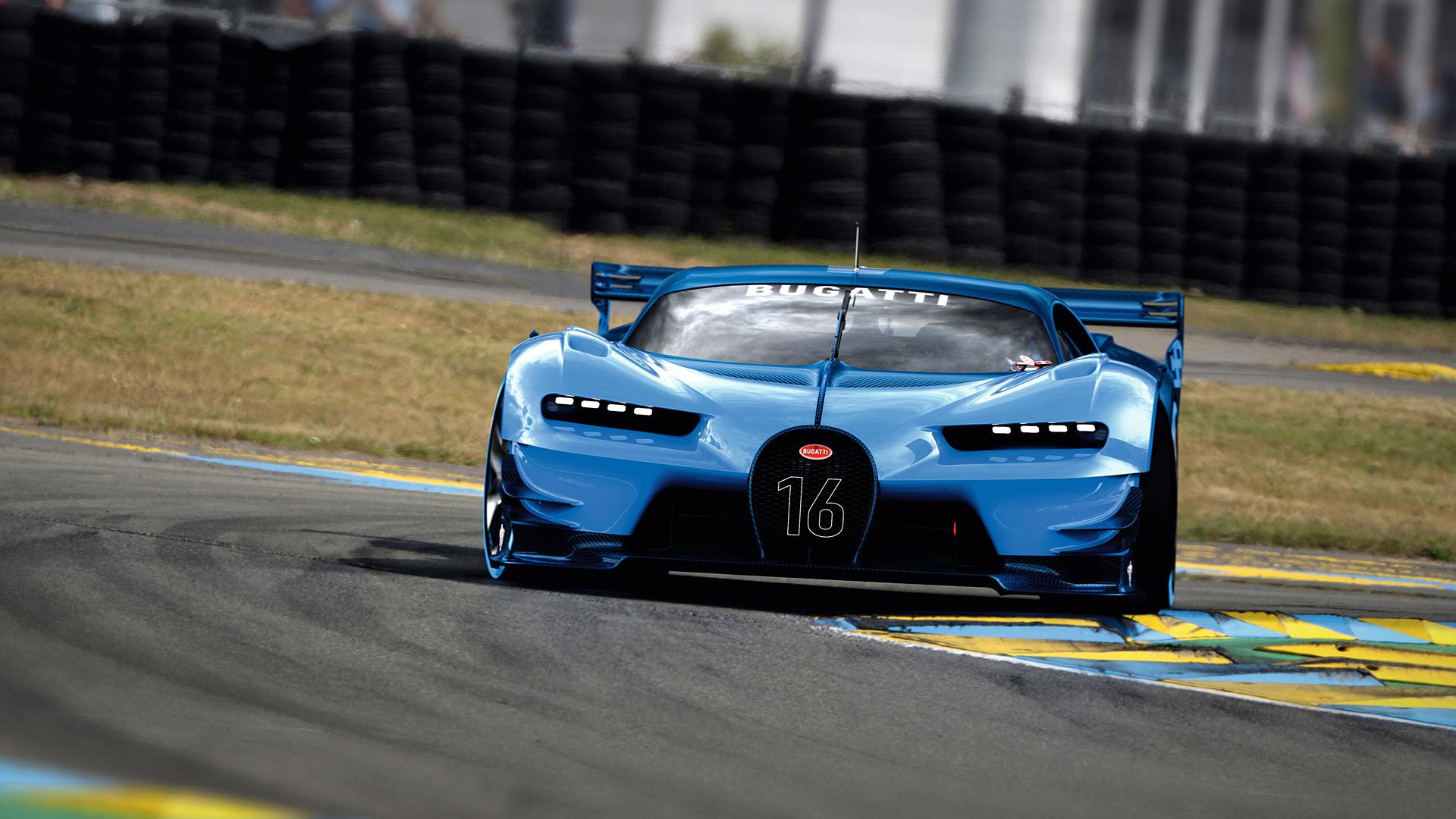 2015 Bugatti Vision Gran Turismo Concept Wallpapers Specs 1920x1080