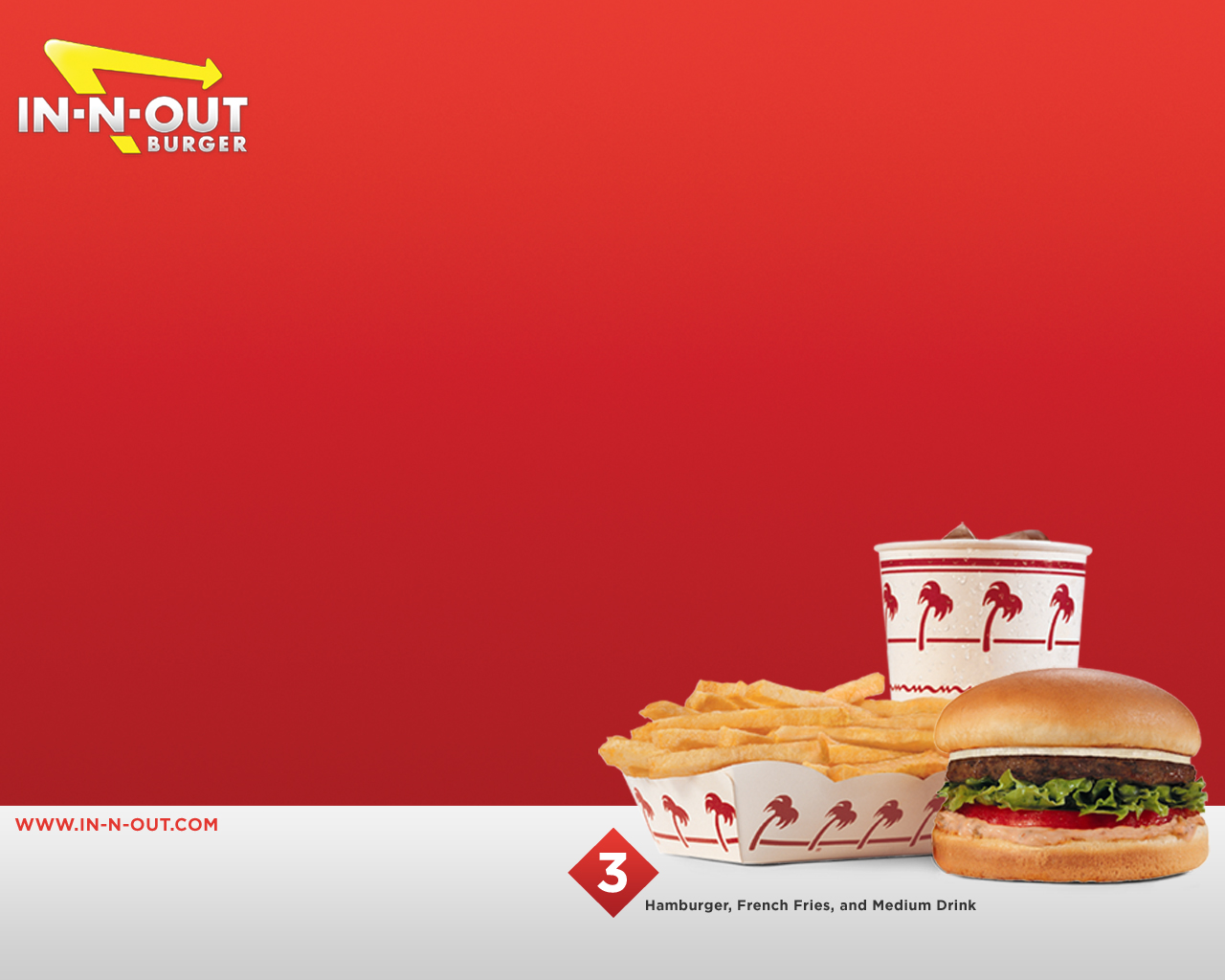 In N Out Burger Wallpapers and Background Images   stmednet 1280x1024