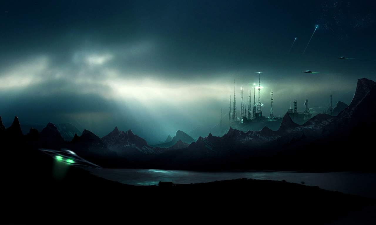 sci fi 3d wallpapers 3d wallpapers 1280x768