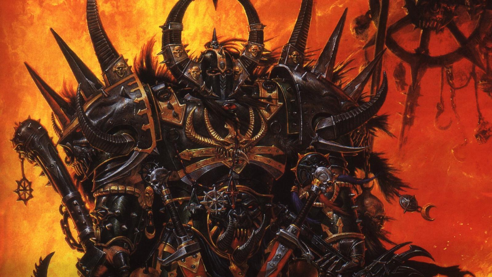 1920x1080 warhammer 40k chaos 1600x900