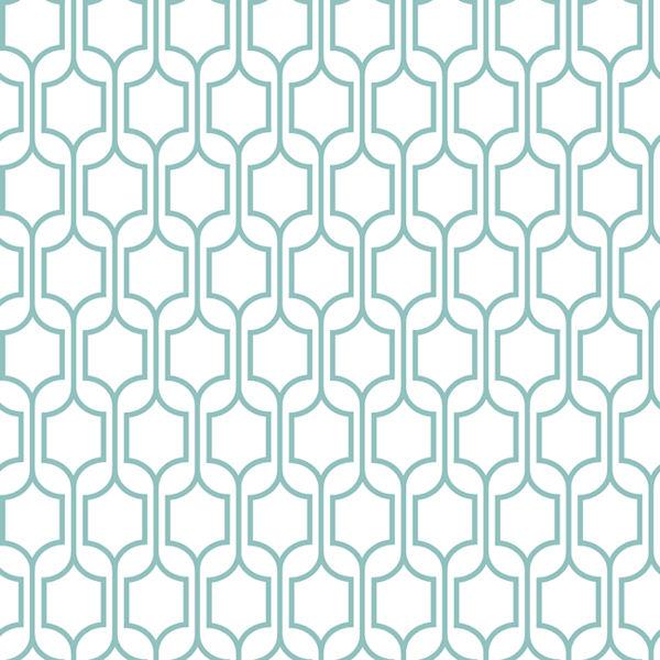 Blue Trellis Wallpaper   Wall Sticker Outlet 600x600
