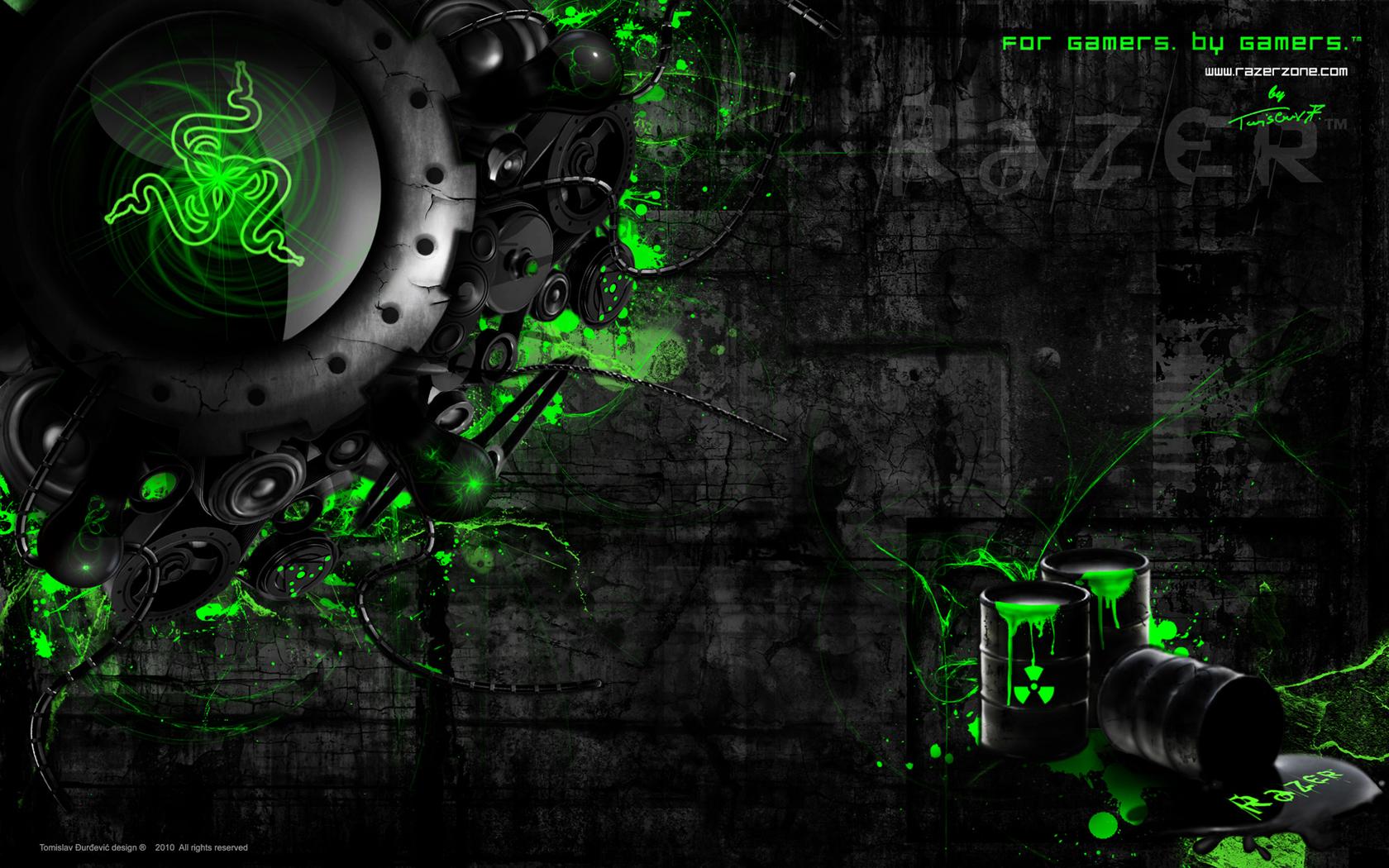 Razer Abstract Wallpaper Best HD Wallpapers 1680x1050