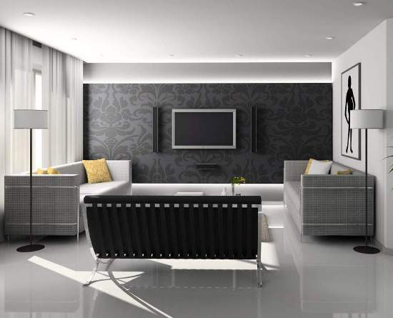 Which is Better in Painting and Wallpaper Home Interiors Blog 550x445
