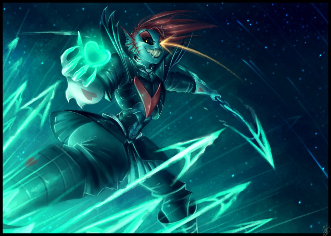 Undyne the Undying   The True Hero by WalkingMelonsAAA 1057x755