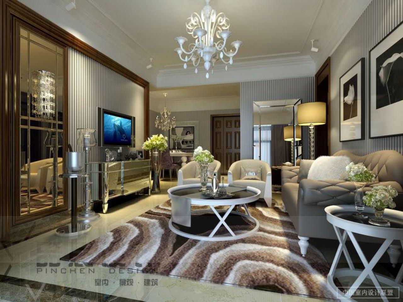 Fancy Wallpaper For Living Rooms Wallpapersafari