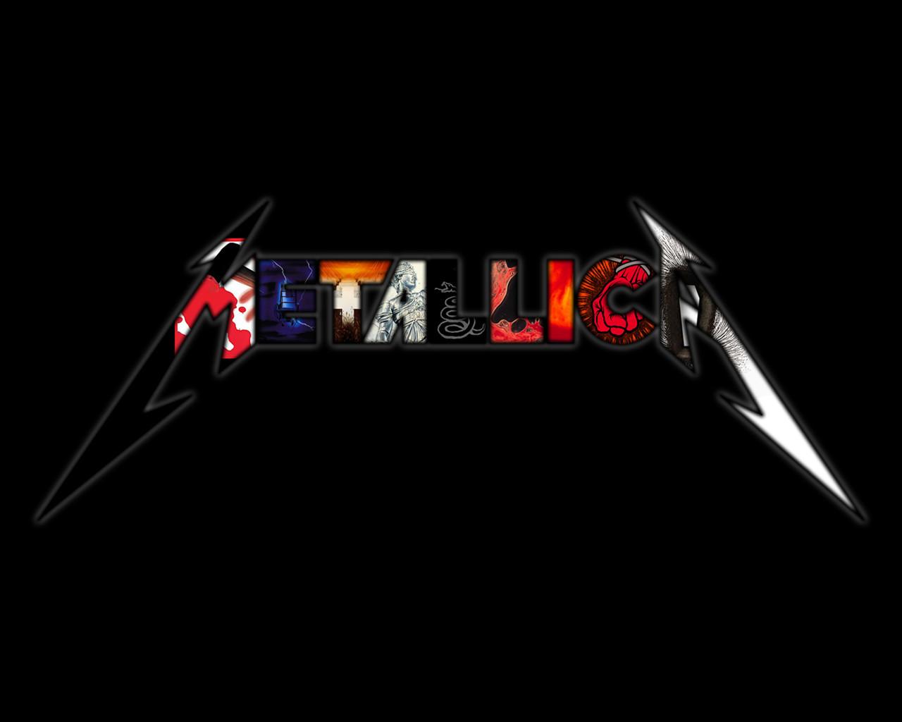 Metallica Logo Wallpaper 57110 IMGFLASH 1280x1024
