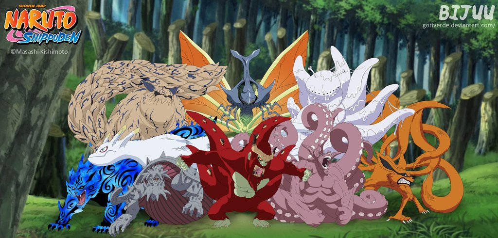 NeoNightclaw19 images Tailed Beasts HD wallpaper and background 1024x491
