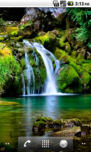 waterfall comments downloads live download screen flag wallpaper 307x512