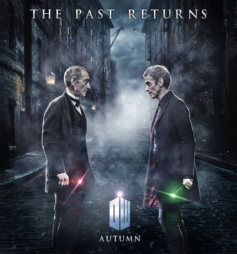 Doctor Who Series 8 Poster The Past Returns 2 by Umbridge1986 811x867