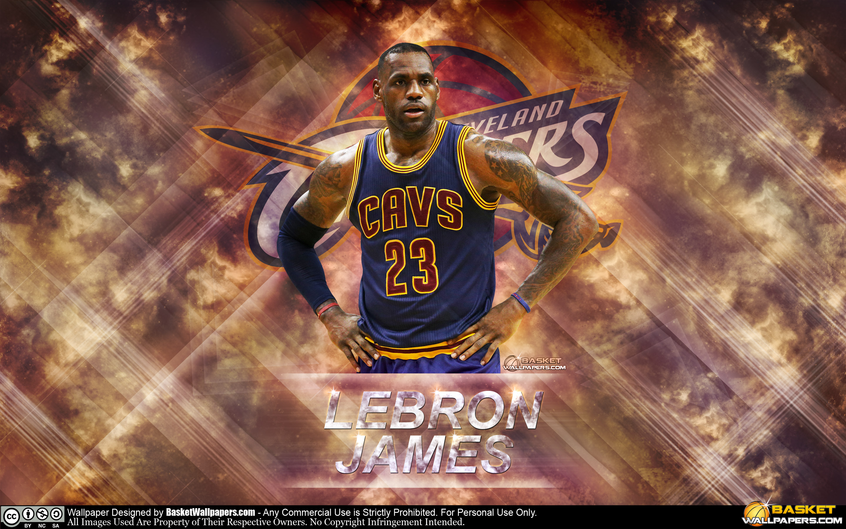 LeBron James The King 2016 28801800 Wallpaper Basketball 2880x1800