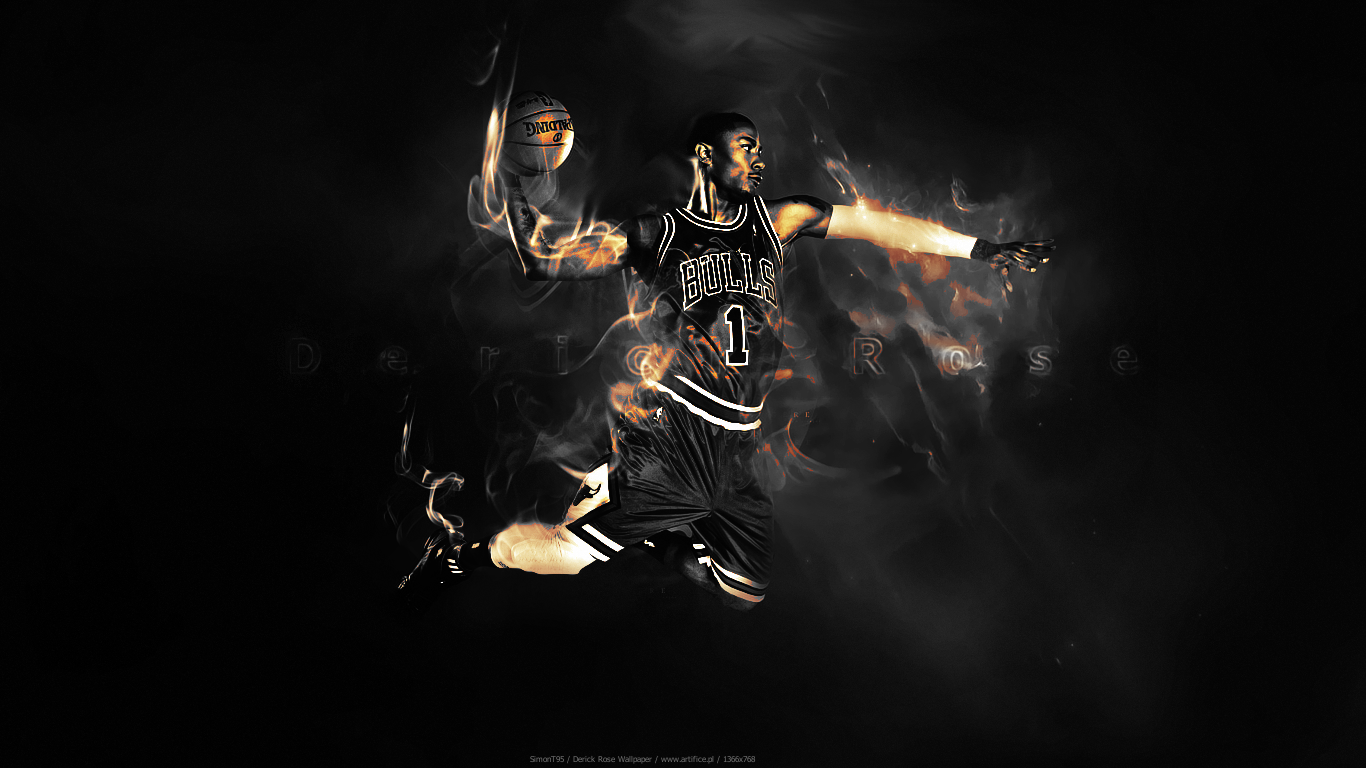 Derrick Rose Wallpaper 70 195372 High Definition Wallpapers wallalay 1366x768